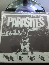 Parasites ‎– Where The Kids Are E.P.  - Electrified Hair Records - 328/500 - 1990