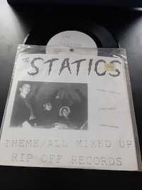 The Statics ‎– Theme / All Mixed Up Rip Off Records 1993