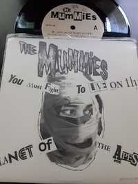 The Mummies ‎– (You Must Fight To Live) On The Planet Of The Apes - Sympathy For The Record Industry - 1993