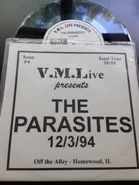 The Parasites ‎– 12/3/94 (Off The Alley - Homewood, IL) - V. M. L. Records - 1995