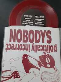 Nobodys ‎– Politically Incorrect - Just Add Water - red vinyl - 1995