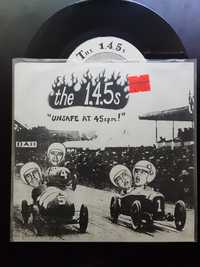 The 1,4,5s - Unsafe At 45 R.P.M. ! -  Peek-A-Boo Records - 1995