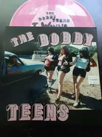 The Bobbyteens ‎– I Wanna Go Home - Outer Universe Research Records - pink vinyl - 1998