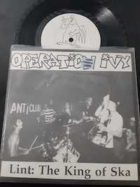 Operation Ivy ‎– Lint: The King Of Ska - SqUAMOSAL RECORDS 1812/2000 - 1993