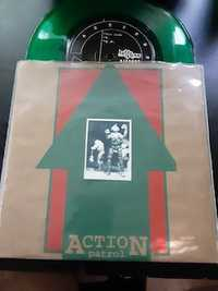 Action Patrol ‎– Up And Running - Buddy System Records - 1994