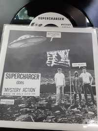 Gas Huffer / Supercharger ‎– Bad Guy Reaction / Mystery Action - Gearhead Records - 1993