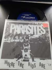 Parasites ‎– Where The Kids Are E.P. - Electrified Hair Records 437/500 - 1990