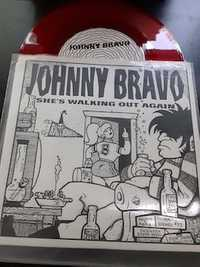 Johnny Bravo ‎– She's Walking Out Again - Lo-Mag Music - red vinyl - 1995