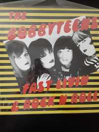 The Bobbyteens ‎– Fast Livin & Rock N Roll - Lipstick Records -1998